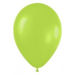 Globo verde neon r-12 30cm 50uds sempertex