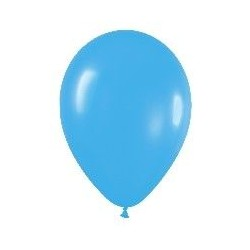 GLOBO AZUL PASTEL R9 225 CM FASHION SOLIDO LATEX 50 UNID