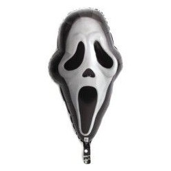 GLOBO CARA MASCARA FANTASMA SCREAM 41X71