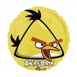 GLOBO ANGRY BIRDS PAJARO AMARILLO 18 45 CM HELIO