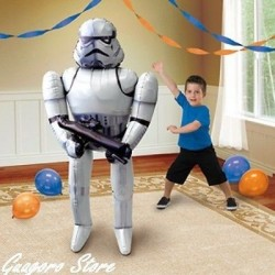 GLOBO STAR WARS STORM TROOPER GIGANTE 83 X 177 CM