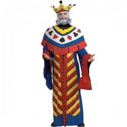Disfraz rey poker