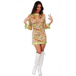 Disfraz sexy hippye love vestido 80534 gui