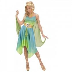 Disfraz diosa del zodiaco griega talla s