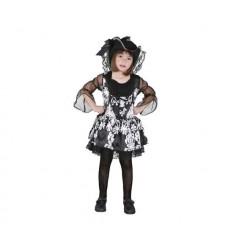 Disfraz lady pirata 5-6 años