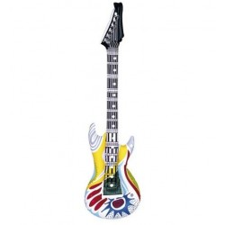 GUITARRA ELECTRICA HINCHABLE INFLABLE FUNKY 107 CM