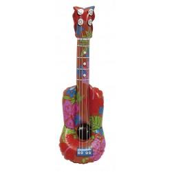 Guitarra hawaiano hinchable ukelele
