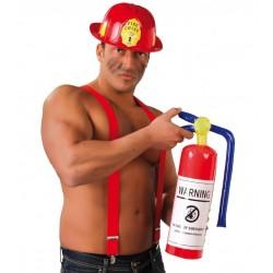 Extintor hinchable para bombero