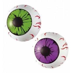 Ojos hinchables 25 cm 2 unidades decoracion hallow