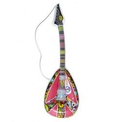 Mandolina hippie hinchable 105 cm guitarra hipy
