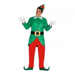 Disfraz elfo ayundate santa claus talla l adulto
