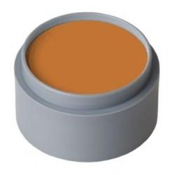 Maquillaje naranja al agua grimas profesional 15