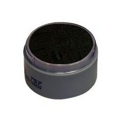 Maquillaje negro al agua grimas prosfesional