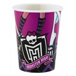 VASOS 25 CM MONSTER HIGH 8 UND