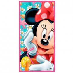 Toalla minnie mouse 70 x 140  cm playa o piscina