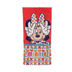 Toalla minnie colours 70 x 140 cm playa piscina