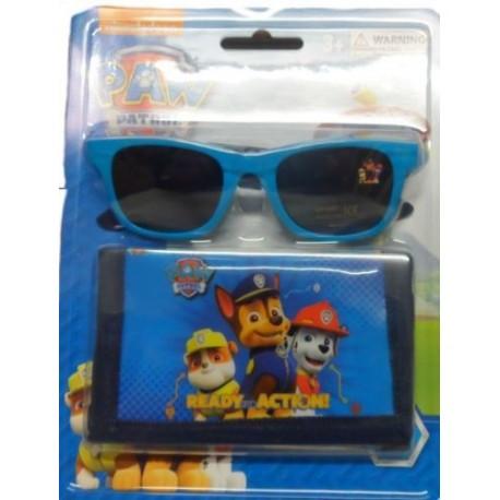 21aadd1ee2 Set billetera mas gafas de sol patrulla canina. Disfraces baratos online