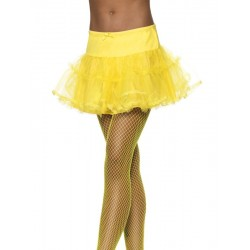 Tutu amarillo neon adulto falda tul