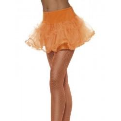 Tutu naranja neon adulto falda tul