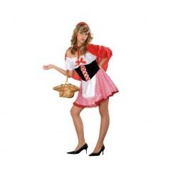Disfraz caperrucita roja sexy mujer
