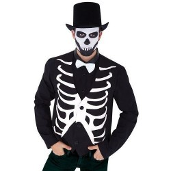 Chaleco esqueleto para hombre talla unica