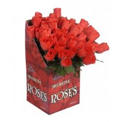 Rosa roja 44 cm unidad