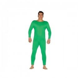 Malla verde hombre talla unica m-l spandex mono
