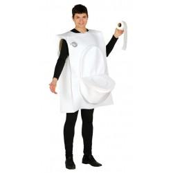 Disfraz toilet man taza de baño w x w ater adulto