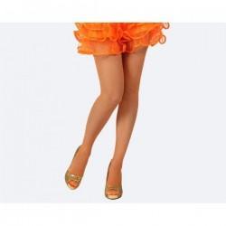 Panty naranja neon red adulto medias