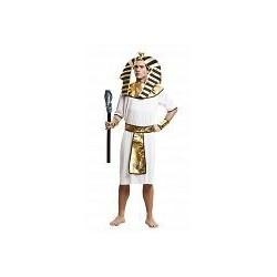 DISFRAZ EGIPCIO BLANCO LUJO TALLA M L HOMBRE