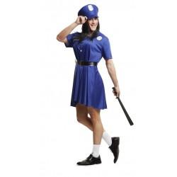 Disfraz policia chica para hombre talla m-l adulto
