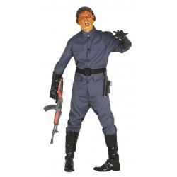 Disfraz soldado ejercito zombie talla m-l adulto
