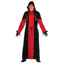 Disfraz monje satanico discipulo secta talla l