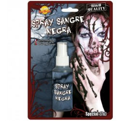 SPRAY DE SANGRE NEGRA ARTIFICIAL OSCURA