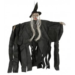 Bruja colgante 90 cm decoracion halloween