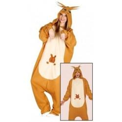 Disfraz canguro talla unica adulto 42-44 pijama