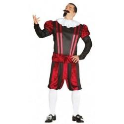 Disfraz epoca shakespeare talla l 52-54 hombre
