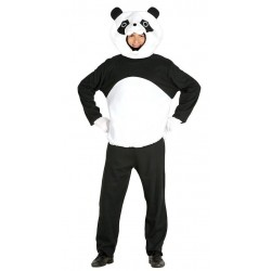Disfraz oso panda adulto talla l 52-54 hombre