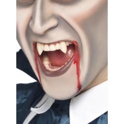 Colmillos dracula blancos dientes vampiro