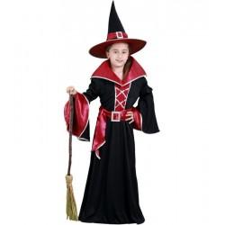 Disfraz bruja grananate talla 10-12 años lujo infantil