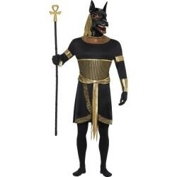 DISFRAZ ANUBIS TALLA L HOMBRE DIOS DE EGIPTO