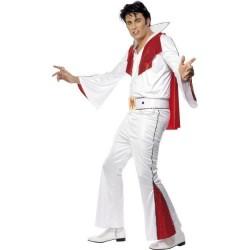 Disfraz elvis blanco original talla l hombre