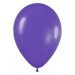 Globo violeta fashion solido r5 125 cm 100 unidad