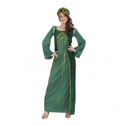 Disfraz medieval verdelady marion talla ml mujer