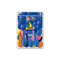 GLOBOS COLORES SURTIDOS 100 UNIDADES 11