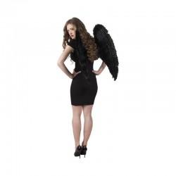 Alas negras angel caido 87 x 72 cm