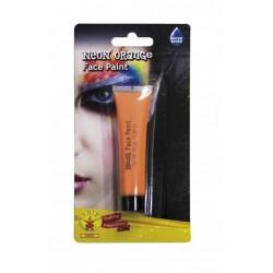 Maquillaje neon naranja para la cara 25 gr crema