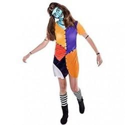 Disfraz sally pesadilla talla xl mujer