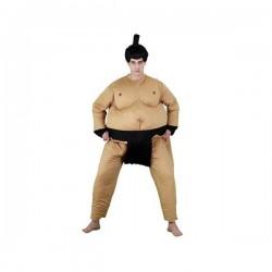 Disfraz luchador de sumo gordo hombre