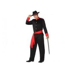 Disfraz soldado confederado talla l hombre